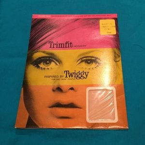 1967 Twiggy Trimfit Tights. New in Original Pack